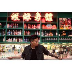Jay Park @ Calvin Klein music even in  Hong Kong