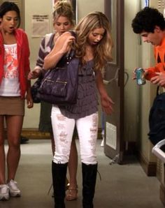 Outfit worn by Alison DiLaurentis in Pretty Little Liars . Shop the Screen with Spylight!