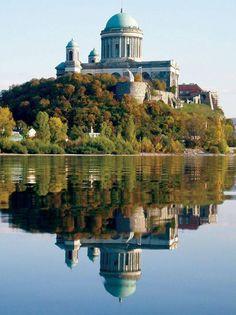 Esztergom Basilica in Hungary. Worth a visit when cycling the Danube Bike Trail. Danube River Cruise, Hungary Travel, Heart Of Europe, European Countries, Budapest Hungary, Eastern Europe, Capital City, Bike Trails, Homeland