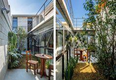 Projeto do escritório Terra e Tuma Arquitetos, a residência foi construída com o orçamento apertado de 150 mil reais