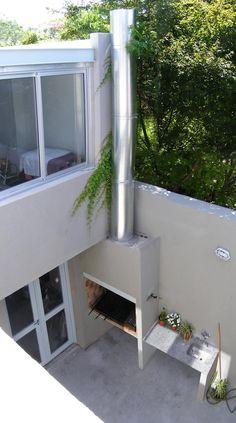 PH en Villa del Parque: Jardines de estilo moderno por PERSPECTIVA