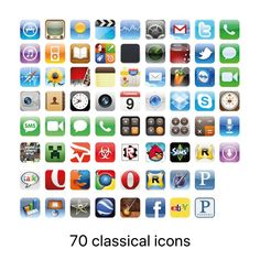 70 Premium App Icons Classic edition iPhone iOS14 | Etsy Music Clock, Screen Icon, Phone Books, Custom Icons, Iphone Icon, Ios Icon, Best Iphone Wallpapers, Music Icon, Etsy App