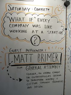 """Gross SXSWI / whiteboard session prop """"GUEST INFLUENCER"""" ahhhh!"""
