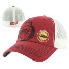Houston Rockets Jackel Retro Cap - Official Houston Rockets NBA Licensed Merchandise
