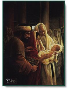 "Simeon with Jesus, ""A Light to the Gentiles"" by Greg Olsen"