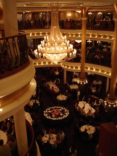 Adventure of the Seas - Dinner area