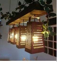 Repurposed cheese graters