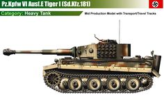Pz.Kpfw VI Ausf.E Tiger (mid production model)
