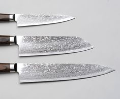 R4 Damascus Knife Set