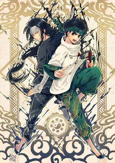 Neji and Rock Lee, by Retpa Naruto Comic, Anime Naruto, Naruto Y Boruto, Shikamaru, Sasunaru, Anime Guys, Sasuhina, Hinata, Sasuke