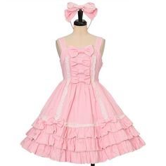 Angelic Pretty   Jumper Skirt (Pink)  https://www.wunderwelt.jp/en/brands/angelic-pretty/jumper-skirt?color=155    Worldwide shipping available ♪   How to order ↓  https://www.wunderwelt.jp/en/shopping_guide  * Japanese online shop for second-hand Lolita Fashion *Wunderwelt *