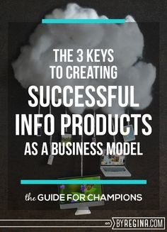 How to create successful #eProducts + a list of 22 types of info products you can develop and sell