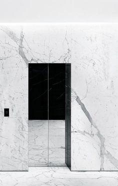 Hedi Slimane   Saint Laurent London, 2013   elevator doors: