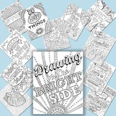 Drawing On The Brightside 12 Print Your by IllustratedAdventure