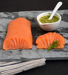Rezept mit Bild für Orangen-Honig-Senfsauce zu geräuchertem Lachs - foolforfood.de
