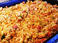 Receta paso a paso para preparar un arroz con toques orientales al estilo venezolano.
