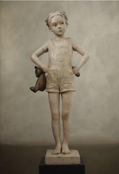 Berit Hildre Norvegian sculptor b. Pottery Sculpture, Sculpture Clay, Bronze Sculpture, Sculptures Céramiques, Modern Sculpture, Funny Art, Rock Art, Ceramic Art, Art Dolls