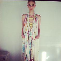 Suboo Floral Maxi Dress