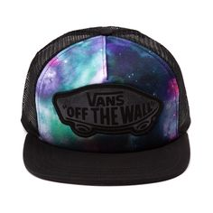 Shop for Vans Classic Patch Galaxy Trucker Hat in Multi at Journeys Shoes. Shop today for the hottest brands in mens shoes and womens shoes at Journeys.com.Totally far out! Snapback hat from Vans featuring multicolored galaxy print and the classic Vans off the wall patch logo. Available only online at Journeys.com!