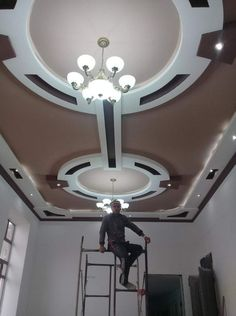 5 Astonishing Cool Tips: False Ceiling Living Room Apartments round false ceiling light fixtures.False Ceiling With Fan Home false ceiling led modern. Ceiling Design Living Room, Bedroom False Ceiling Design, False Ceiling Living Room, Bedroom Ceiling, Ceiling Chandelier, Ceiling Beams, Ceiling Lights, Gypsum Ceiling, Ceilings