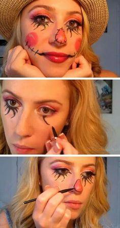 Disfraz. maquillaje
