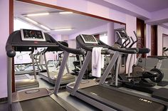 While staying at Saint John's Hotel Beach Resort, guests can enjoy access to the modern and stylish fitness center