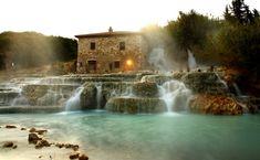 Ingyen fürödhet a gyönyörű toscanai termálforrásban – Termalfurdo.hu
