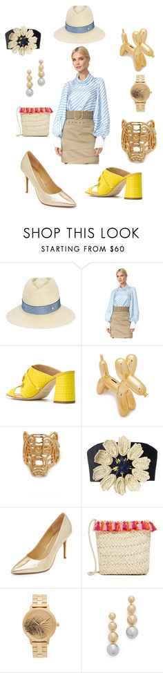"""""""Fashion habib"""" by emmamegan-5678 ❤ liked on Polyvore featuring Maison Michel, Monse, Polly Plume, Kenzo, Delpozo, MICHAEL Michael Kors, Hat Attack, Nixon, Elizabeth and James and vintage"""