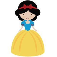 Woodland Fairytale Princess - SVG Scrapbooking File