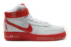 detailed look f630d 41359 Nike Air Force 1 High Rasheed Wallace Sheed Patent White Red! 64.50USD Shoes  Jordans