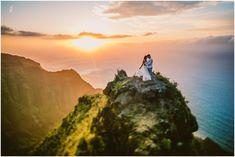 Kepa and Cassady // Kauai Enchanted Elopement Destination Wedding Locations, Destination Wedding Photographer, Hawaii Things To Do, Kauai Wedding, Kauai Hawaii, Beautiful Islands, Vacation Destinations, Enchanted, Engagement Photos