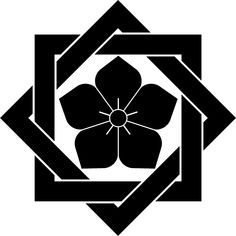 kamon are Japanese emblems used to decorate and identify an individual or family.
