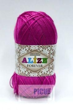 Poze Fir de tricotat sau crosetat - Fir microfibra ALIZE FOREVER ROZ 149 Winter Hats, Fire, Coil Out, Tricot
