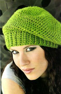 tejidos artesanales: boina tejida en crochet