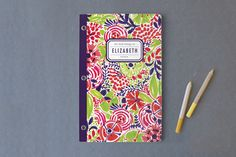 Le Jardin Day Planner, Notebook, or Address Book by j.bartyn at minted.com