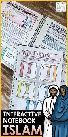 Islam Interactive Notebook Islamic World