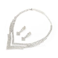 Jewelry - $11.99 - Shining Cup Chain With Rhinestone Ladies' Jewelry Sets (011054227) http://jjshouse.com/Shining-Cup-Chain-With-Rhinestone-Ladies-Jewelry-Sets-011054227-g54227