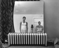 LaToya Ruby Frazier looked at her family's history to build an enduring narrative of African-American life in the Rust Belt town where she was raised. Famous Black Artists, Taking Pictures, Cool Pictures, Larry, Civil Rights Lawyer, Visual Arts Center, Psychological Effects, Institute Of Contemporary Art, Curtain Patterns