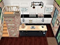 Casas The Sims Freeplay, Sims Freeplay Houses, Sims Free Play, Sims Building, Building Layout, Sims 4 House Plans, Sims 4 House Design, Casas The Sims 4, House Blueprints