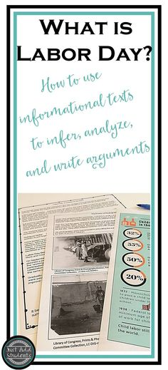 High interest and timely! Thes informational texts help students practice inference, analysis, and argument writing.  Primary source photos and infographic.  No prep!