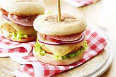 Chicken-Cheeseburger vom Grill mit Appenzeller® Käse