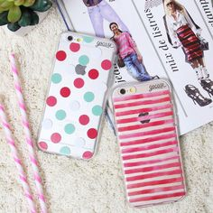 Deixando sua quarta-feira mais rosa. {cases: embolado e listras} [DISPONÍVEIS PARA TODOS OS IPHONES GALAXY E MOTO G3º] #gocasebr #instagood #iphonecase #pink #listras #fashion #voudegocase