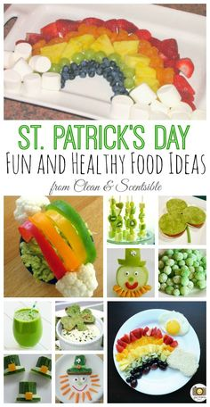 Lots of fun and healthy St. Patrick's Day ideas!