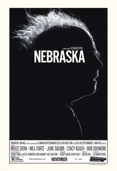 Nebraska Directed by Alexander Payne. With Bruce Dern, Will Forte, June Squibb, Bob Odenkirk. An aging, booze-addled father makes the trip from Montana to Nebraska with his estranged son in order to claim a million-dollar Mega Sweepstakes Marketing prize. Cinema Art, I Love Cinema, Love Movie, Movie Tv, Movie Blog, Image Internet, Bon Film, Image Film, Design Posters