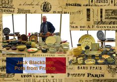Jack Backburn will be showing his wonderful collection of pots from France