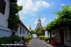 Llegando a Wat Arun #Bangkok #Thailand #Tailandia #Asia #temple