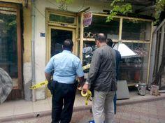 Dursunbey'de  Hırsızlık Girişimi