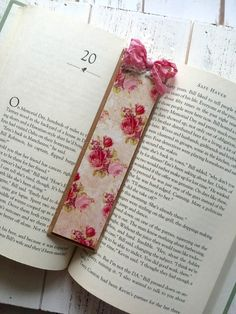A personal favorite from my Etsy shop https://www.etsy.com/listing/275733468/gorgeous-handmade-wood-bookmark-roses