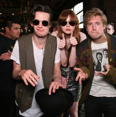 Matt, Karen, Arthur at comic-con 2012. Now, this is why I should have pestered my mom to take me...