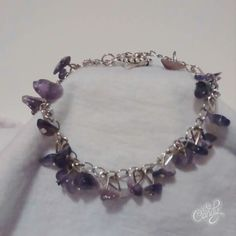 Shipment #10 3/5/16 Sorry Sold Spring Fling Open House 3/12/16 Amethyst Chip Bracelet $24.00 Corinna M Warren ME